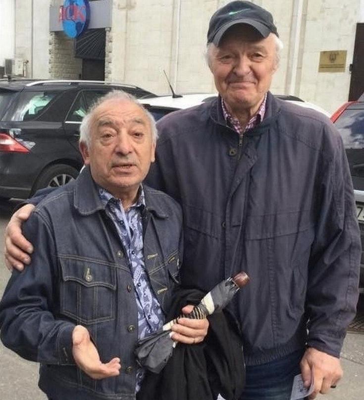 Борис Акбашев и Юрий Климов