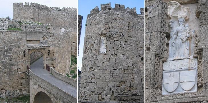 Афанасиевые ворота и близлежащая башня Святой Марии