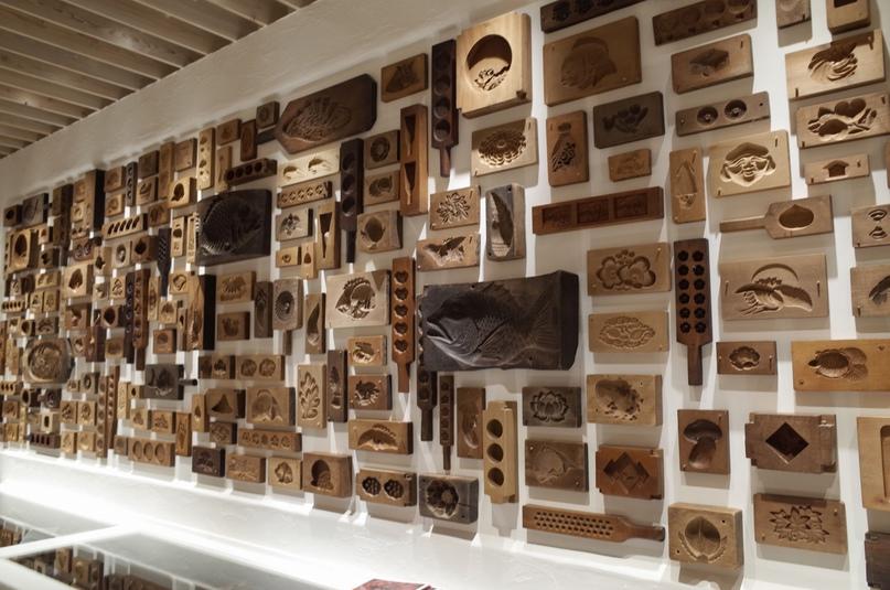 Японские деревянные резные формы Кашигата, изображение №1