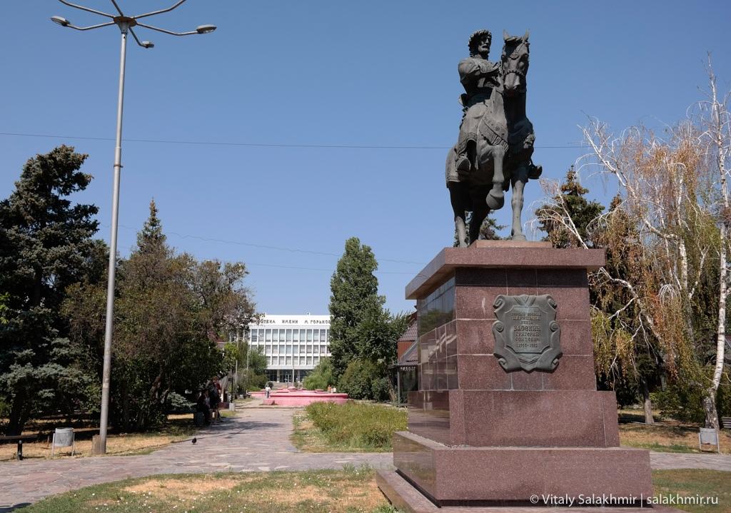 Памятник в Волгограде, путешествие 2020