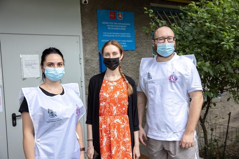 Добровольцы «Союза Маринс Групп» передали гуманитарную помощь нуждающимся ялтинцам