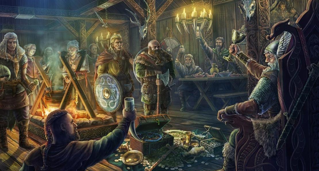 Викинги в Валгалле