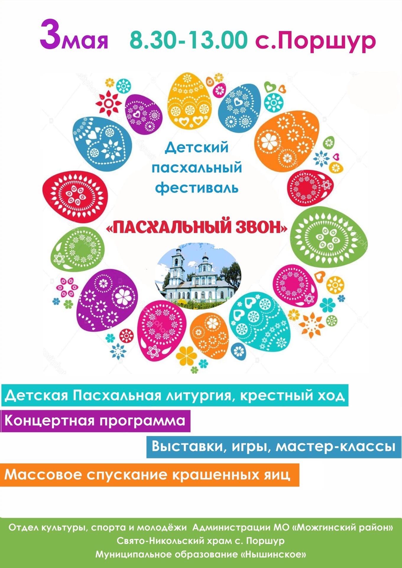 Детский Пасхальный фестиваль, ежегодно проводимый Свято-Никольским Храмом
