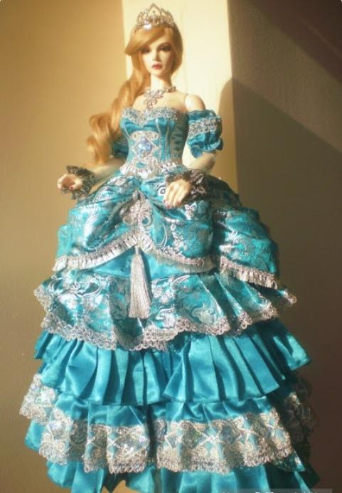Красивые плптья для кукол идеи, нарядные платья для кукол своими руками, вечерние платья для Барби,