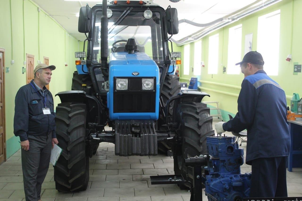 Преподаватель Петровского агропромышленного лицея выступил экспертом на демонстрационном экзамене WorldSkills