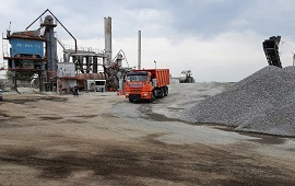 Завод в Липецком районе поставляет асфальтобетон для объектов нацпроекта «БКД»