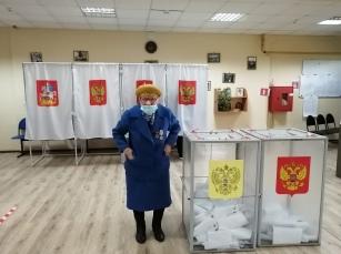Сегодня жители Рузского городского округа продолжают активно голосовать