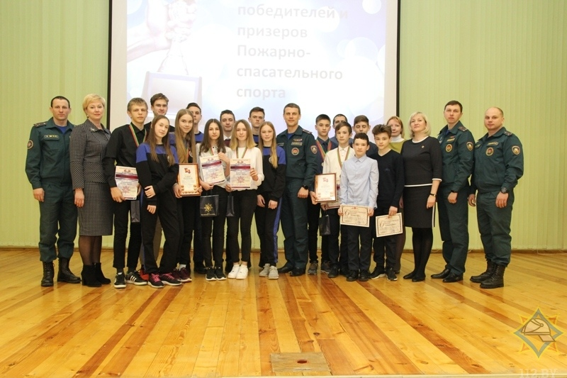 На Витебщине свои чемпионы по пожарно-спасательному спорту
