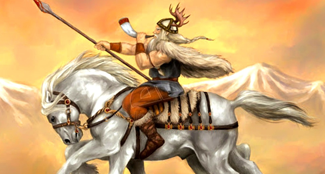 Викинги на конях