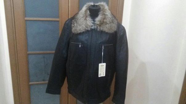 куртка новая из натуральной кожи с подстежкой из н...