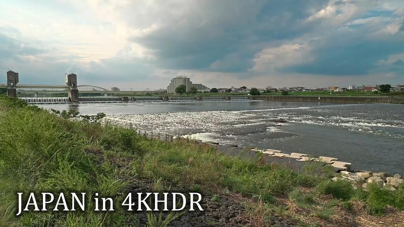 Kawasaki walk around Noborito・4K HDR