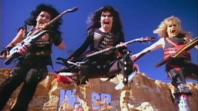 W A S P Wild Child 1985