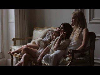 Joie Fall 13 Campaign Video Starring Anouck Lepere, Julia Restoin Roitfeld and Poppy Delevingne
