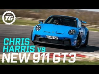 Review: Chris Harris drives the new Porsche 911 GT3   Top Gear