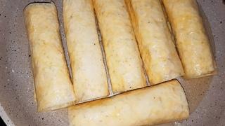Сосиска в ЛАВАШЕ с сыром и яйцом. Сытный ЗАВТРАК из ЛАВАША на сковороде