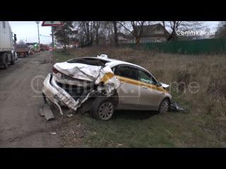 На Киевской трассе произошла массовая авария!
