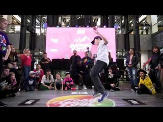 Everest battle  | Hip-Hop beginners |Final| Александра Сердитова vs Холостов Миша (win)