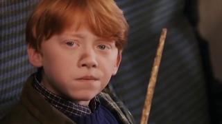Сцена вырезанная из Гарри Поттера / Harry Potter