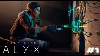 VR. Знакомство с Half Life Alyx + Oculus Rift S