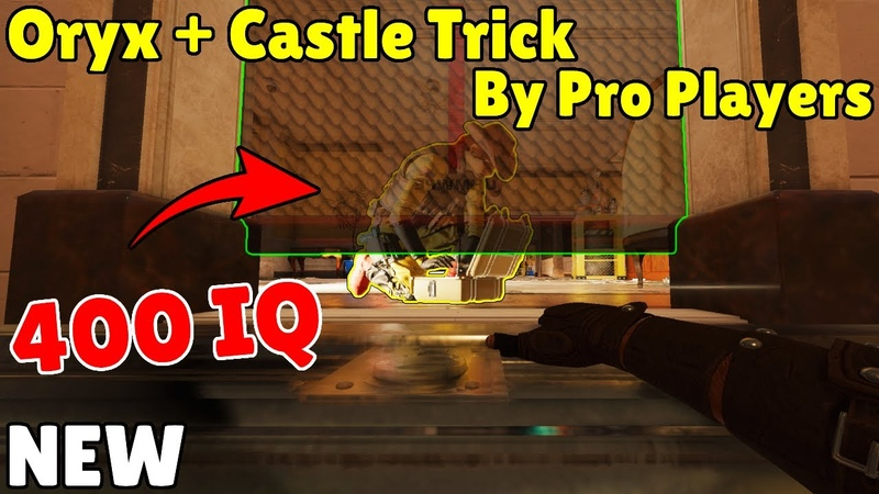 The *NEW* CRAZIEST *Oryx Castle* Combo Trick By Pro Players Rainbow Six Siege