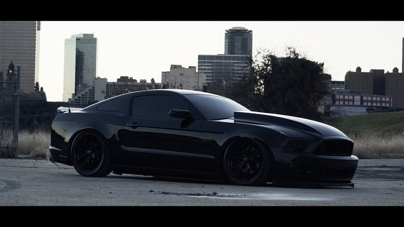 Blacked Out 2014 Bagged Mustang 5 0 Night Lovell RIP Trust Mad Martin Productions