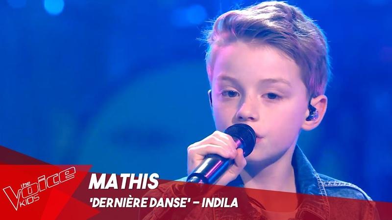 Mathis 'Dernière danse' Sing Off The Voice Kids Belgique