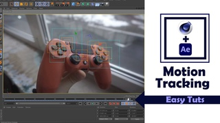 Motion Tracking in Cinema 4D & After Effects (Easy) Tutorial