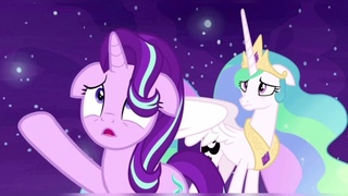 7 сезон 10 серия млп: Принцесса Селестия и Луна 🌑