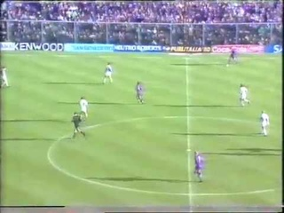 Channel 4 Football Italia Live 1992-93_Fiorentina v Juventus_Peter Brackley