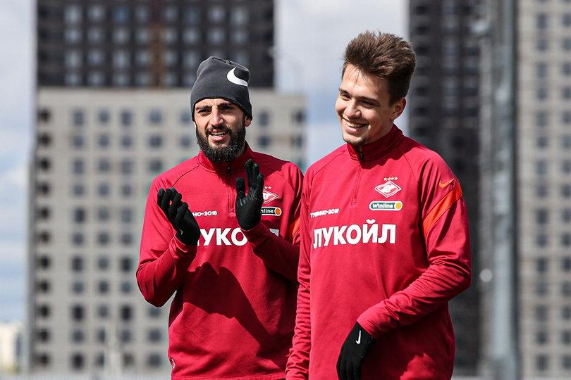 Самуэль Жиго и Дмитрий Маркитесов