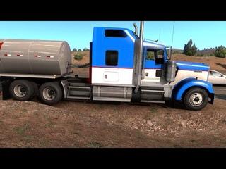 American Truck Simulator Colorado DLC - Milk Transport from Burlington Part 4