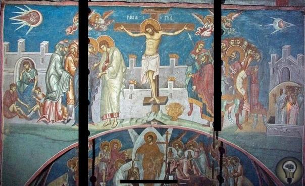 Тайна, которую никто не смог разгадать Это храм Спаса Вседержителя в монастыре Высокие Дечаны в Сербии. В начале 1964 года его посетил студент Югославской художественной академии Александр