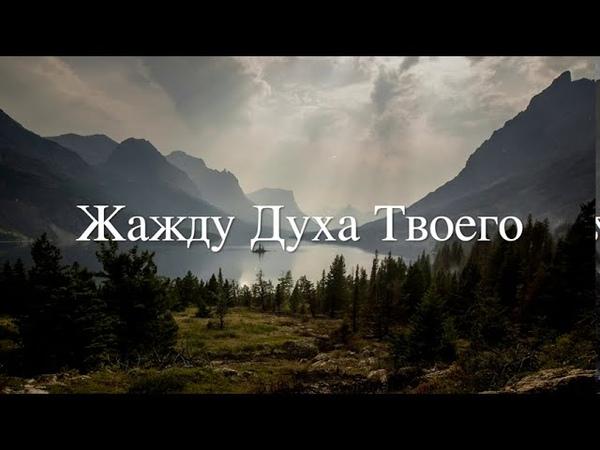 Жажду Духа Твоего авт и исп Анна Поночевная