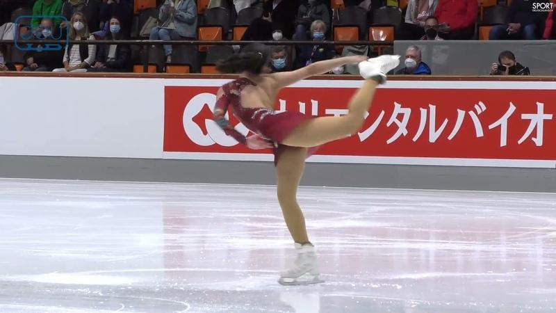 Alysa Liu SP Nebelhorn Trophy 2021