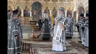 Проповедь Преосвященнейшего епископа Алексия накануне Лазаревой субботы