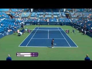 Western & Southern Open 2013 | Vania King vs Victoria Azarenka |  R1 | PART1