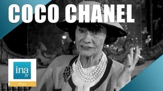 """1959 : Coco Chanel """"Les femmes sont toujours trop habillées""""   Archive INA"""