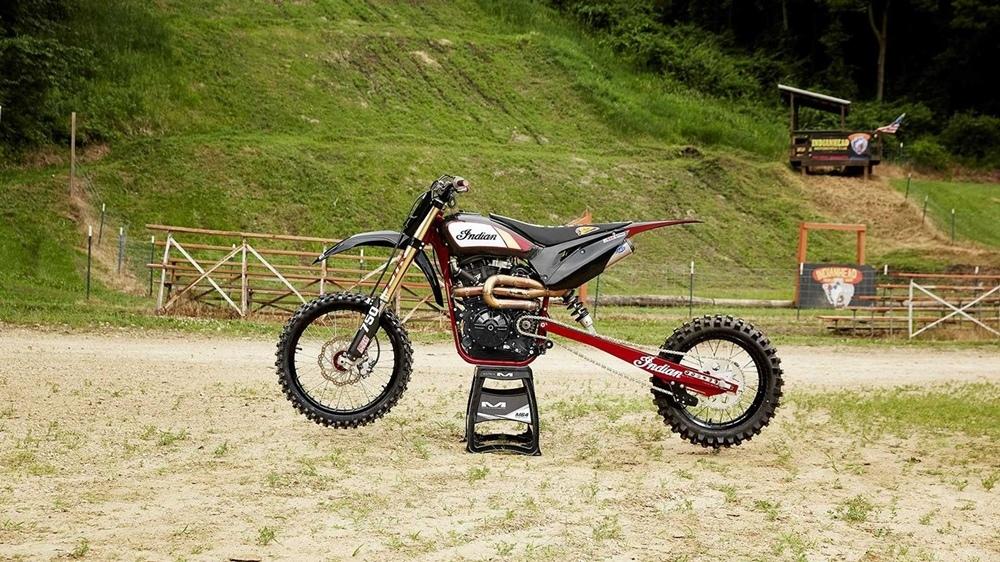 Мотоцикл Indian FTR750 Hill Climber