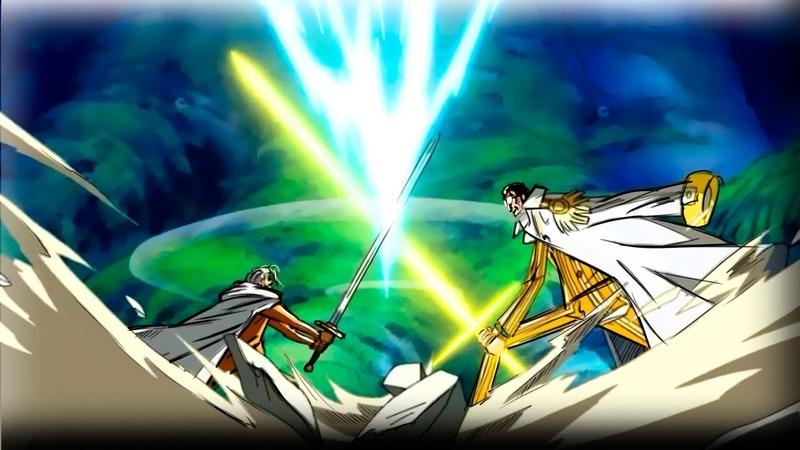 ЧЕЛОВЕК СВЕТ в аниме Адмирал КИЗАРУ Ван Пис обзор One Piece