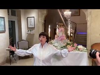 Avignon : Mireille Mathieu a fêté ses 75 ans à l'Hôtel d'Europe