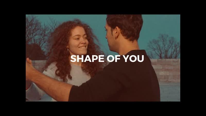 Ed Sheeran Shape of you Salsa dance Daniel Rosas Denise Fabel 2019
