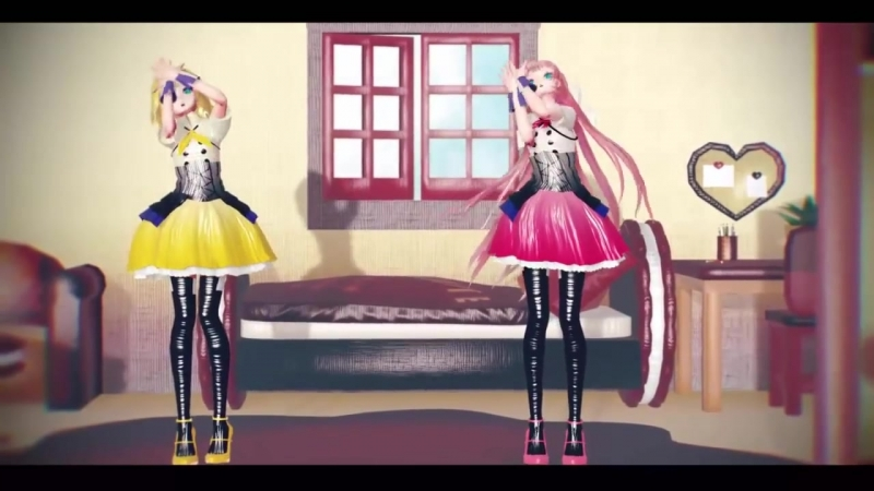 [MMD AGTH] drop pop candy【Rin*Luka】