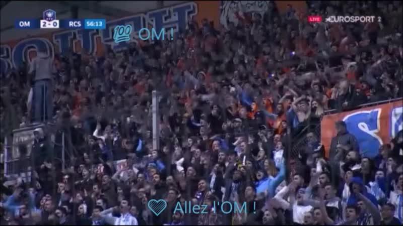 Allez l' OM vs RCStrasbourg 3 1 OMRCSA