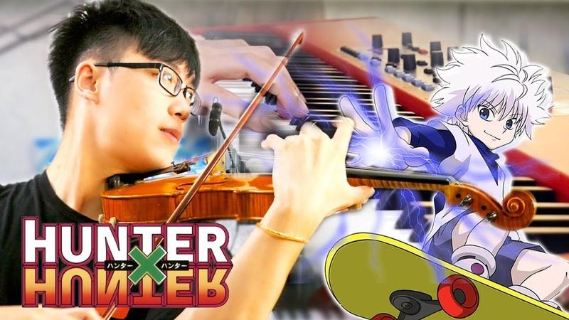 Hunter X Hunter - Ohayou - Keno - Violin Piano Cover