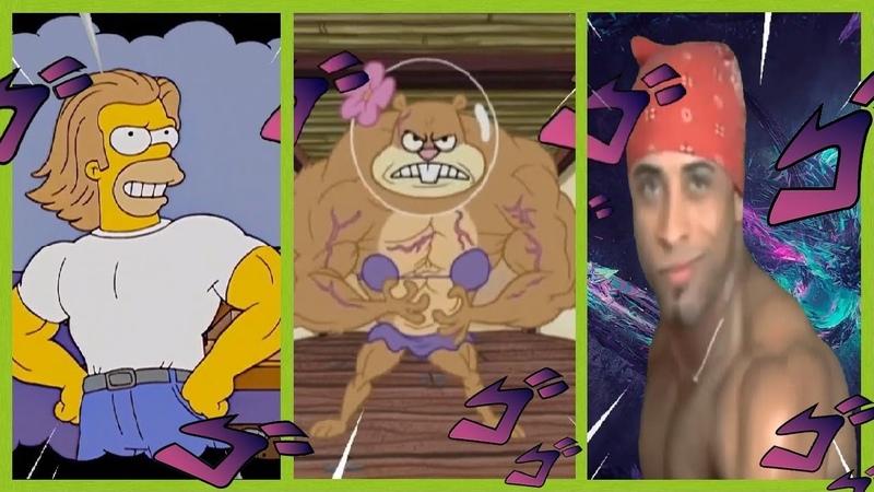 AYAYAYAYYYY AWAKEN Jojo's Pillar Men Theme Vídeos Humor Parte 5