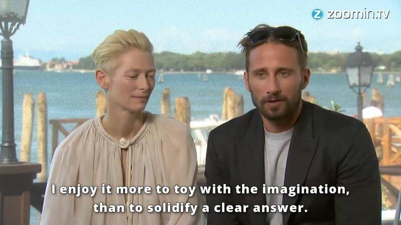 Venice Tilda Swinton and Matthias Schoenaerts tell all