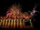 Feu d'artifice des Fêtes de genève 2013 2ième partie Conquêtes Conquérants Fireworks Feuerwerk
