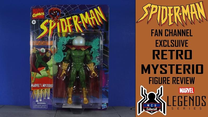 Marvel Legends MYSTERIO Retro SpiderMan Exlcusive Figure Review