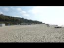 Пляж в Янтарном Калининградская область