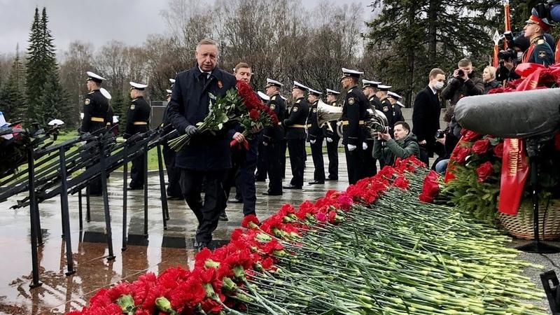 872 дня осады и почти 660 тысяч погибших На Пискаревском кладбище почтили память жертв войны